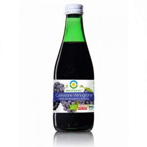Organic juice of red grapes 0,3l