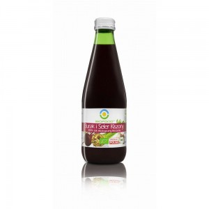 Organic juice of lactofermented beets and celery 0,3l