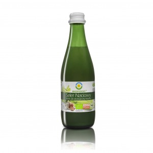 Organic chokeberry and apple juice 0,3l (1)