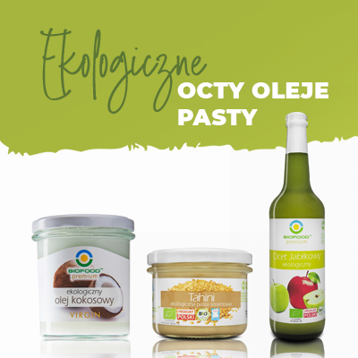 octy oleje pasty Bio Food